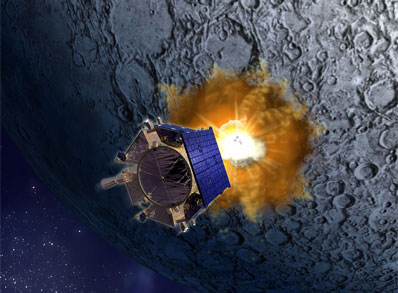 LCROSS - a misson to destroy our sweetest moon!