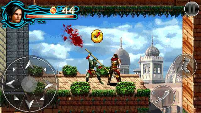 Prince Of Persia Java Conerted Game in Android wow