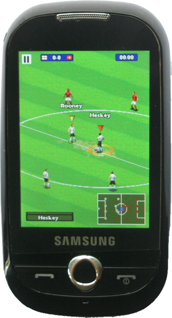 Real Soccer 2011 - Full Touch Screen – 230×320 – JAVA Game For Samsung GT-3653 Corby – Free Download