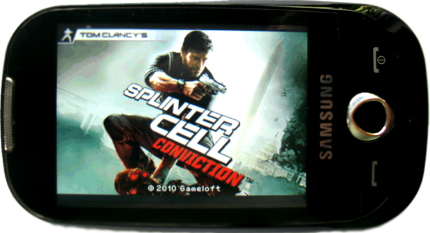 Tomy Clancy's - Splinter Cell Conviction - Samsung GT-S3653 - JAVA Game - Full Touch Screen Game - 230x320 - Download (1/2)