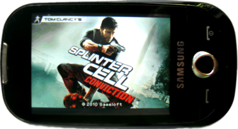 Tomy Clancy's - Splinter Cell - Samsung GT-S3653 JAVA Full Touch Screen Game - 230x320  JAVA - Ddownload